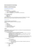 SAMENVATTING: Samenvatting Bank & Verzekeringen H1
