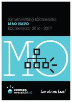 SAMENVATTING: Samenvatting M&O Examen HAVO 2017