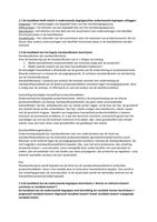 SAMENVATTING: Uitgewerkt examenprogramma & samenvatting MBA Kostencalculatie niveau 5