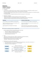 SUMMARY: Samenvatting Marketing de essentie 13e editie
