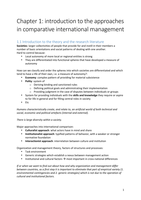 SAMENVATTING: Comparative and Cross Cultural Management for IBA