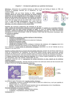 NOTES DE COURS: Endocrinologie