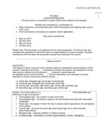 Answers: PYC2603 Exam Answers May/Jun 2015, Oct/Nov 2015, May/Jun 2016, Oct/Nov 2016