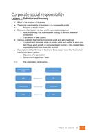SAMENVATTING: Samenvatting CSR - Dentchev