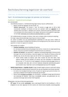 SAMENVATTING: Samenvatting Rechtsbescherming tegenover de overheid