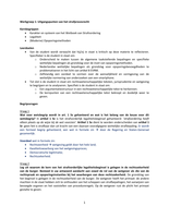 Answers: Uitwerking werkgroepen Formeel Strafrecht week 1 t/m 7