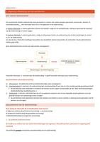 SAMENVATTING: Samenvatting Analytische Kostencalculatie