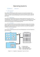 SAMENVATTING: Samenvatting Operating Systems