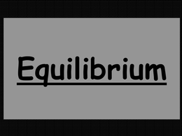 OVERIG: Revision Powerpoint on Equilibrium OCR Chemistry A level 2015