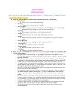 SUMMARY: Health Assessment Final Exam Study Guide