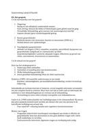SUMMARY: Samenvatting Psychodiagnostiek