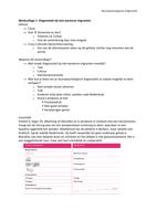 LECTURE NOTES: Aantekeningen Werkcollege 1: Diagnostiek bij niet-westerse migranten