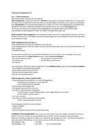 SUMMARY: Samenvatting Financieel management 2.4