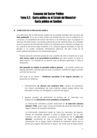 NOTES DE COURS: TEMA 5.2: ECONOMÍA DEL SECTOR PÚBLICO I