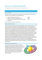 SUMMARY: Samenvatting Kwaliteit in Bedrijfsvoering 2.4