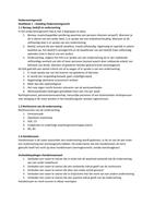 SAMENVATTING: Ondernemingsrecht (9de druk) Hoofdstuk 1 samenvatting