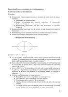 SAMENVATTING: Samenvatting-Bestuurswetenschappen & Overheidsmanagement
