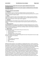 ESSAY: M3 D2 Unit 14 Physiological Disorders Health and Social Care Level 3 Extended Diploma