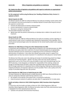 ESSAY: Unit 41 Medication M1 Health and Social Care Level 3 Extended Diploma