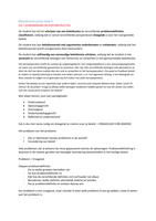 SUMMARY: Beleidsconstructies BLOK H4