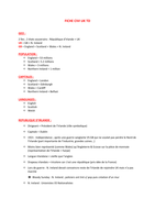RESUME: Cours de civilisation britannique - L1/S2 LEA