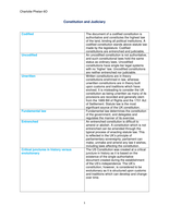 NOTES DE COURS: GOVP2 Constitution & Judiciary Notes- FULL
