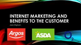 PRESENTATION: Unit 12 Internet Marketing P3 & M1
