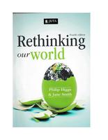 AUTRE: rethinking our world pfd prescribed book
