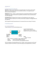 RESUME: Samenvatting Organisatiekunde & Projectmanagement