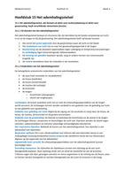 SUMMARY: Anatomie en fysiologie een inleiding, hoofdstuk 15 (15.1 t/m  15.9)