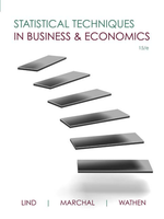 OTHER: Statistical Techniques in Business & Economics 15th edition, Marchal / Wathen PDF