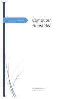 ESSAY: computer networks fundamentals