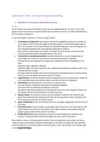 Exam: Leerdoelen Team-en Leiderschapsontwikkeling