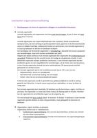 Exam: Leerdoelen Organisatieontwikkeling