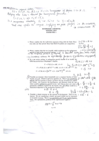 Svar: Answers to 1-12 exercises (40% of them will be in the final exam)