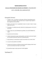 Examen: Proefexamen oplossing 2016