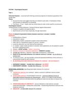 SUMMARY: PYC3704 - Exam prep