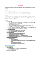 SAMENVATTING: farmacologie