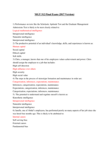Exam: MGT 312 Final Exam (2017 Version)