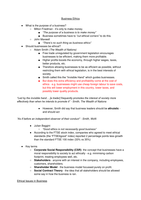 SUMMARY: Business Ethics - detailed notes