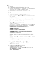 SAMENVATTING: Volledige samenvatting F&D blok 1.3