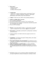 SAMENVATTING: Volledige samenvatting psychologie blok 1.3