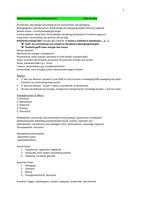 SAMENVATTING: Samenvatting trauma module (49A+B) vanaf 6 juli 2016