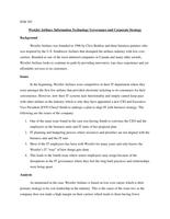 CASE: ITM707 - WestJet Airlines Case Analysis