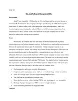 CASE: ITM707 - AtekPC Project Management Office