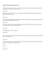 Exam: ITM410 - TB Chapter 4