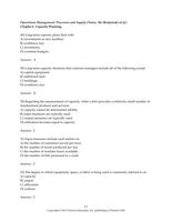 Exam: ITM410 - TB Chapter 6
