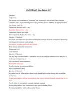 Exam: MN553 Unit 3 Qiuz Latest 2017