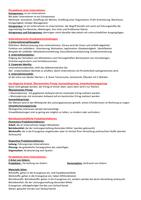 ZUSAMMENFASSUNG: Management Basics