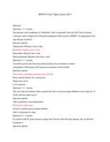 Exam: MN553 Unit 3 Quiz Latest 2017